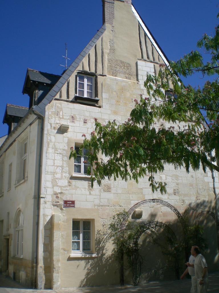 Rénovation d'un pignon dans le vieux Tours