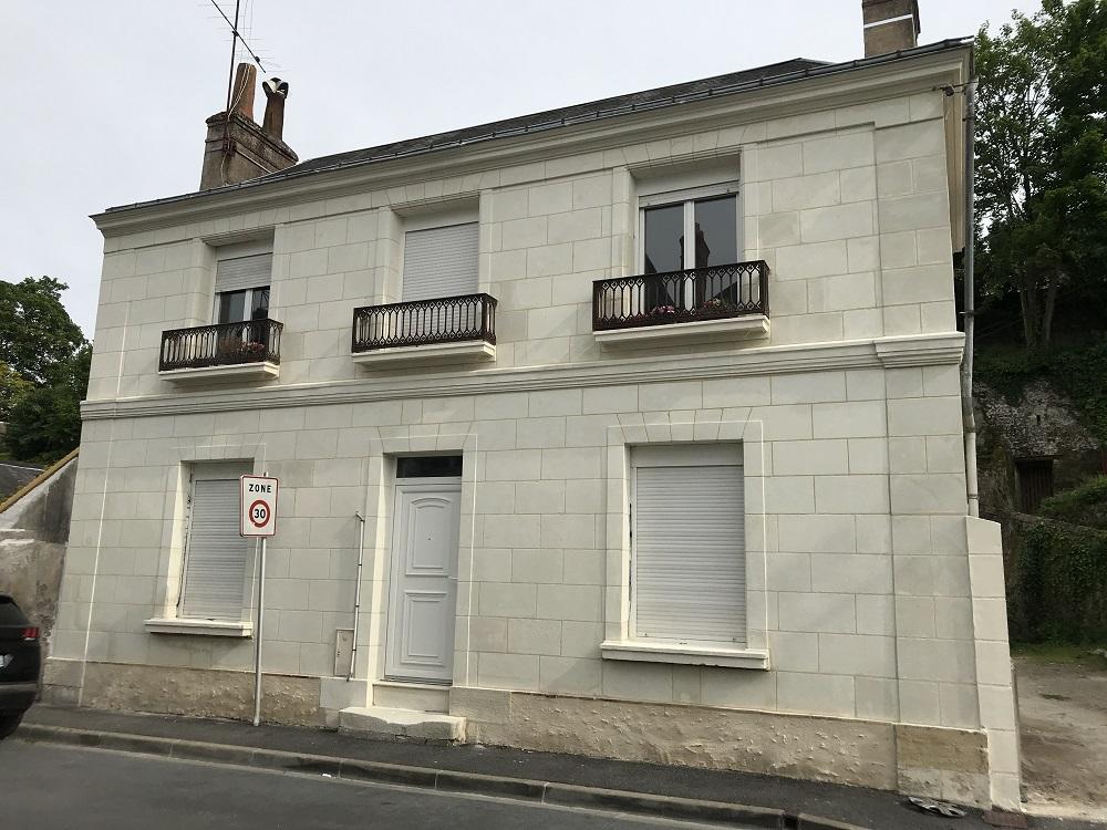 façade après Loire rénovation