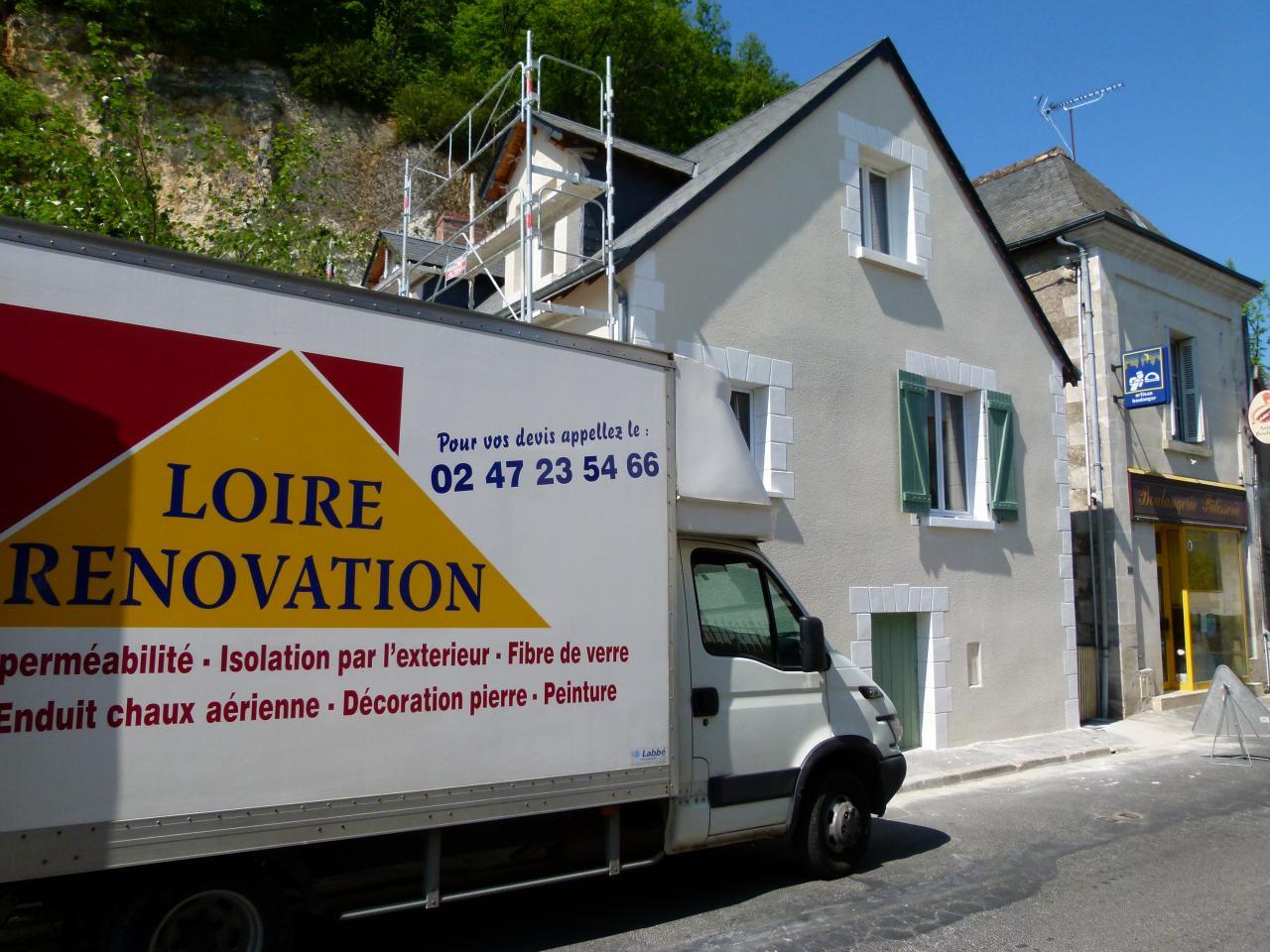 Enduit, Loire rénovation