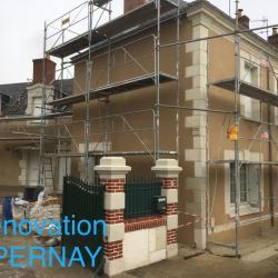 Rénovation à Pernay