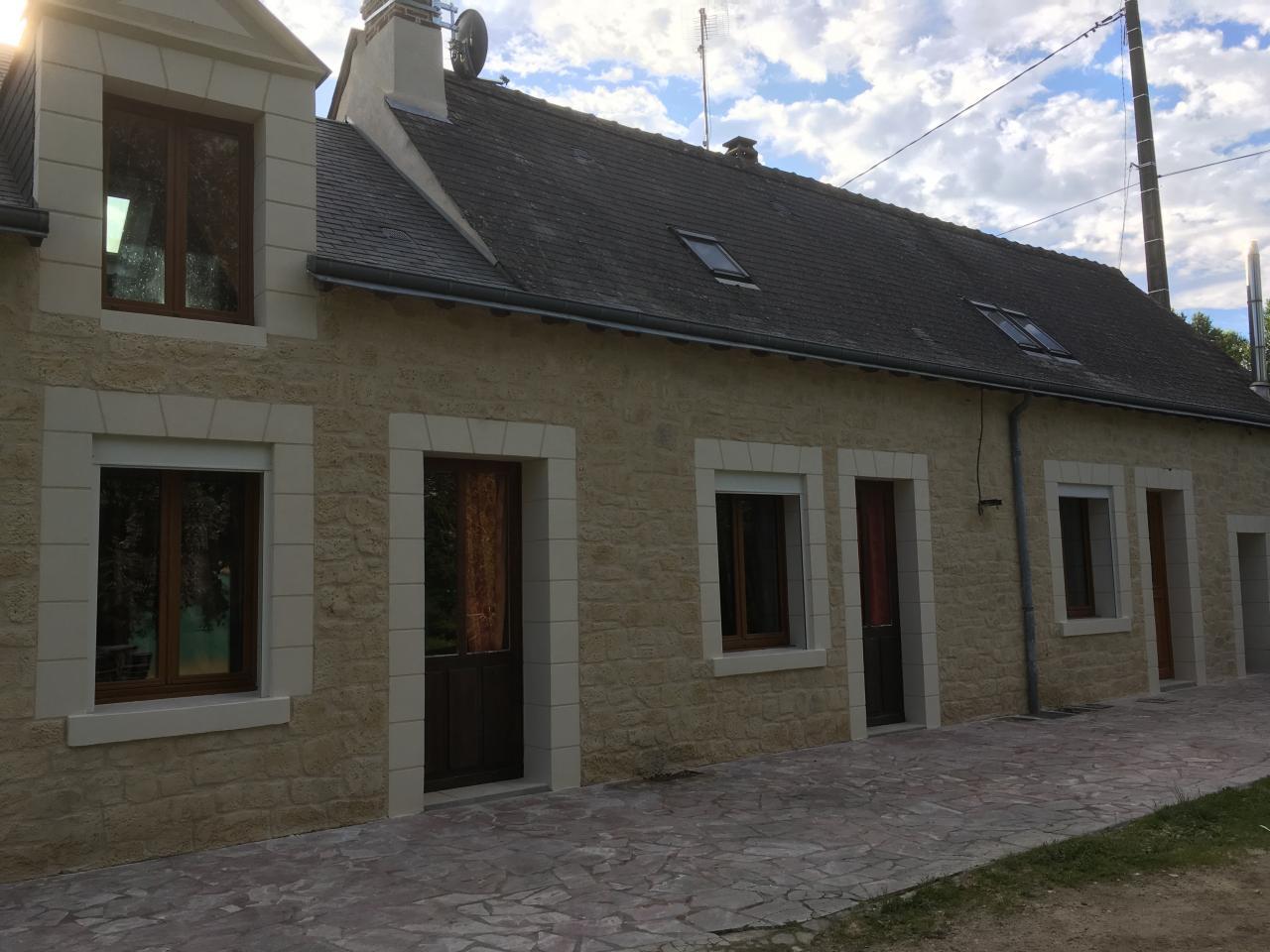 Rénovation avec décoration aspect pierre