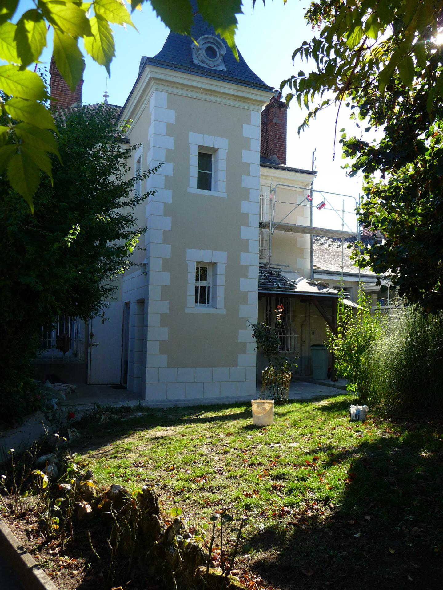 Décoration aspect pierre en façade