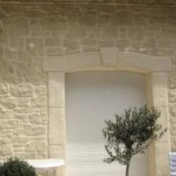 décoration aspect pierre extérieure