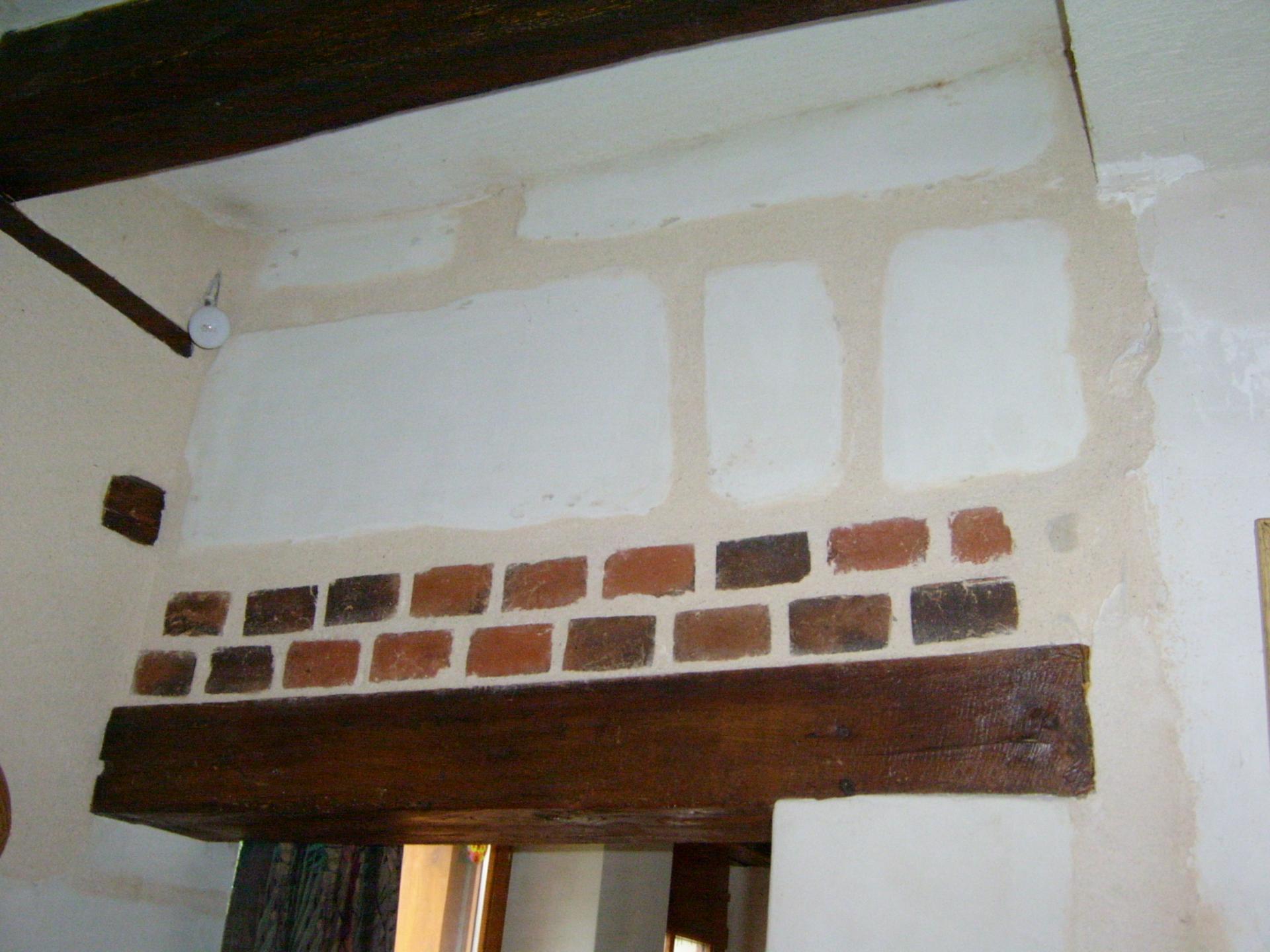 Décoration brique et pierre intérieure