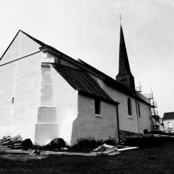 Eglise de Pernay/Loire rénovation