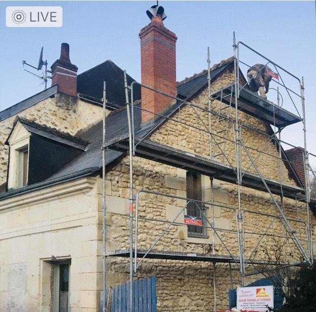 Rénovation Pierres à POCE/CISSE - Avant
